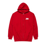 Big Baller Brand Worldwide Red Zip-Up