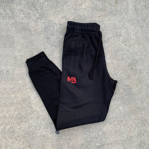 MB1 Exclusive Black Joggers