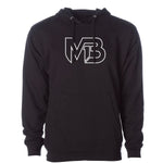 MB1 Logo - Outlines White