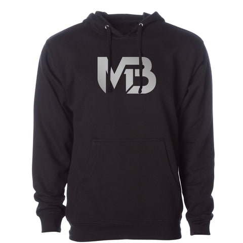 MB1 Logo - Reflective Silver Hoodie