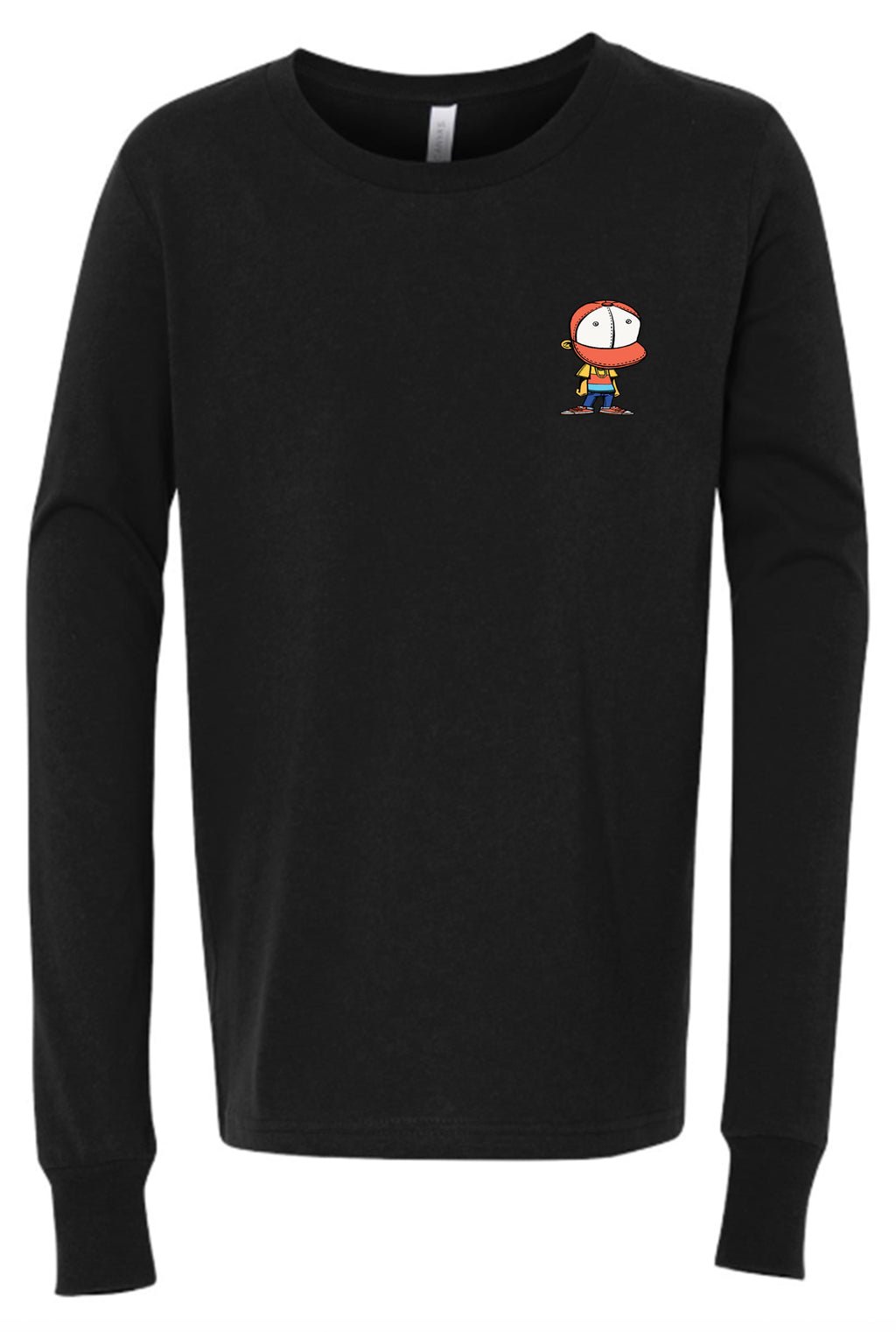 BHS2 Long Sleeve Patch T-Shirt