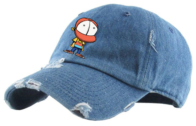 BHS2 HAT DENIM