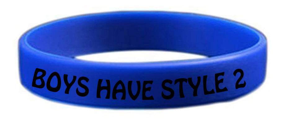 Boys Have Style 2 Wristband