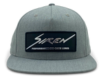 Siren Flatbill Snapback: Heather Grey