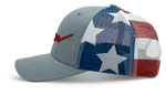Siren Classic Trucker: Red, White & Blue