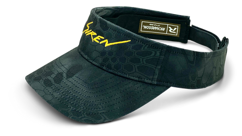 Siren Cotton Twill Visor: Kryptek Typhon and Gold