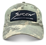 Siren Garment Washed Trucker: Digi Camo