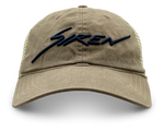 Siren Garment Washed Trucker: Driftwood & Sand
