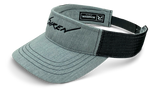Siren Trucker Visor: Heather Grey & Black