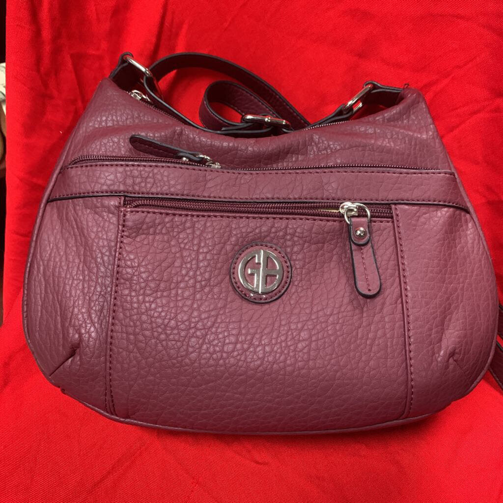 Giani Bernini Purse Burgundy