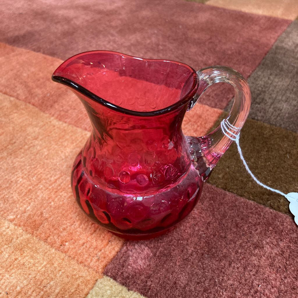 Small Cranberry Pitcher