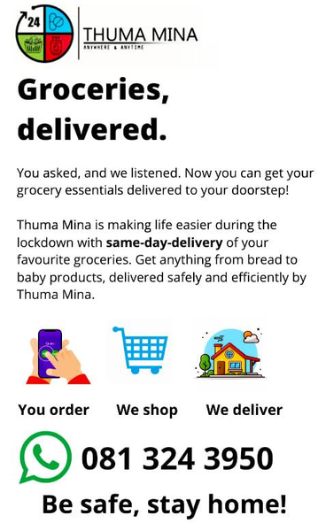 Support Township Business: Thuma Mina