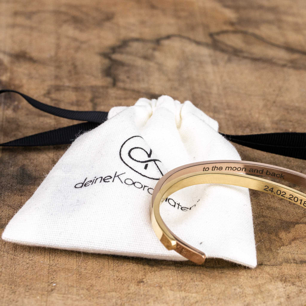 Bangle with your own engraving