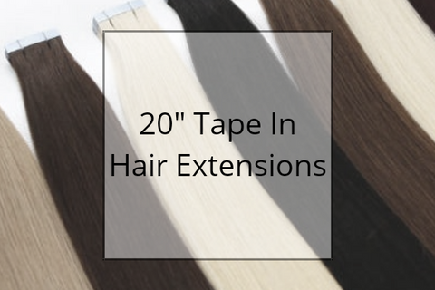 "SHOP 20"" TAPE IN HAIR EXTENSIONS"