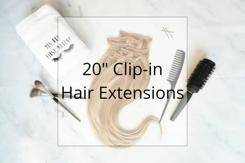 "SHOP 20"" CLIP IN HAIR EXTENSIONS"