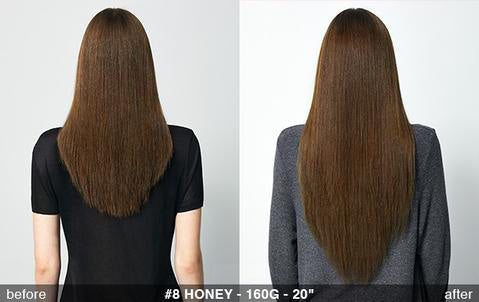 8 Honey Brown Back