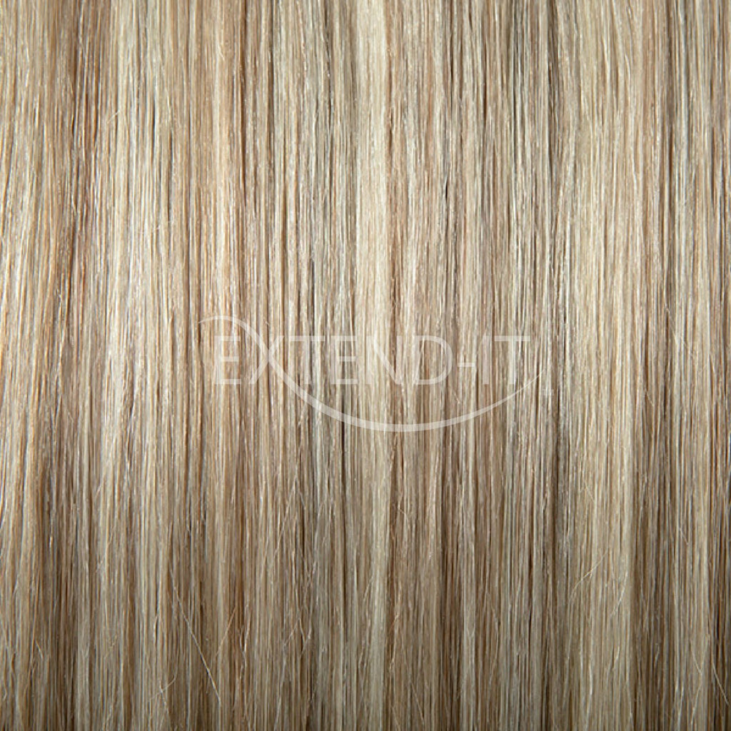 6018 Caramel Blondeclip In Hair Extensions Extend It Shop