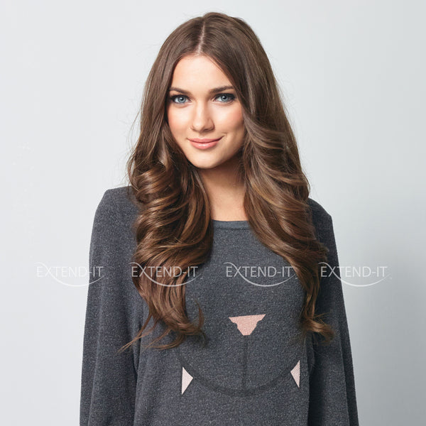 #8 Honey Brown<br>Clip-in Hair Extensions