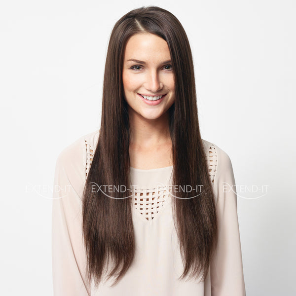 "#2 Dark Chocolate Brown 20"" - Extend-it Shop"