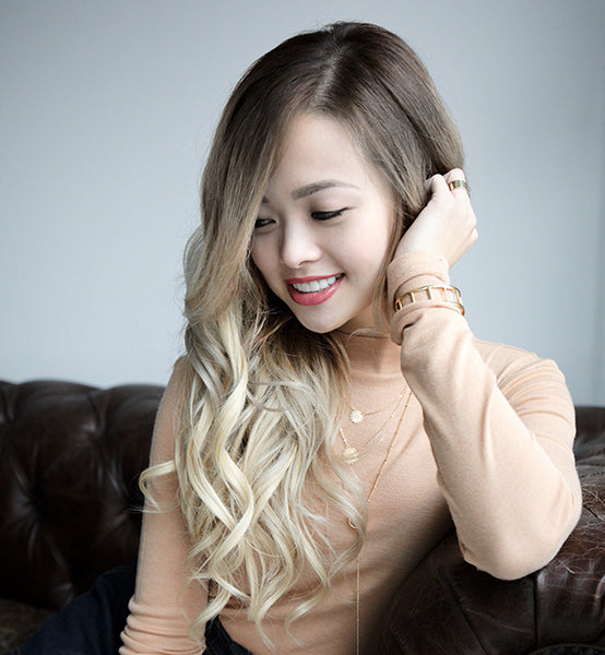 #8/60 Ombre Honey/Platinum<br>Clip-in Hair Extensions