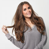 #4 Medium Brown<br>Clip-in Hair Extensions