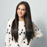 #1B Natural Black<br>Clip-in Hair extensions