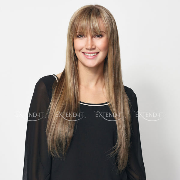 #8/16 Honey Ash - Clip-in Hair Extensions