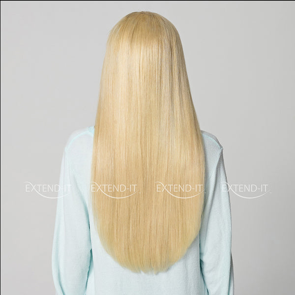 #613 Bleach Blonde<br>Clip-in Hair Extensions