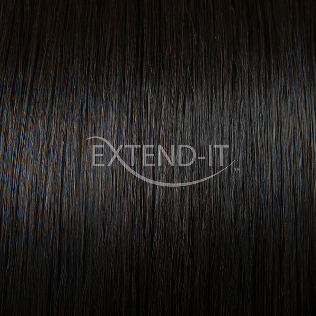 1b Natural Blackclip In Hair Extensions Extend It Shop