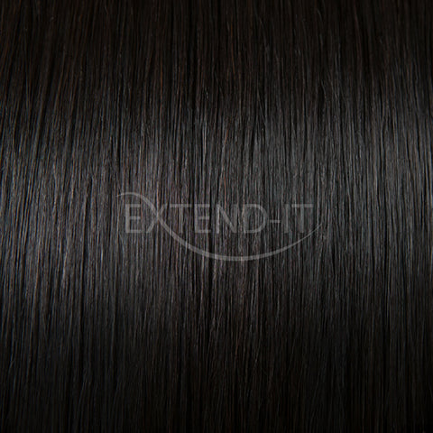 #1C Black Espresso Colour Swatch - Extend-it Shop