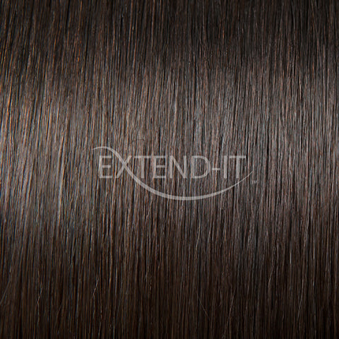 #2 Dark Chocolate Brown Colour Swatch - Extend-it Shop