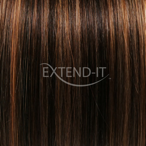 #2/27 Brown Golden <br>Clip-in Hair Extensions