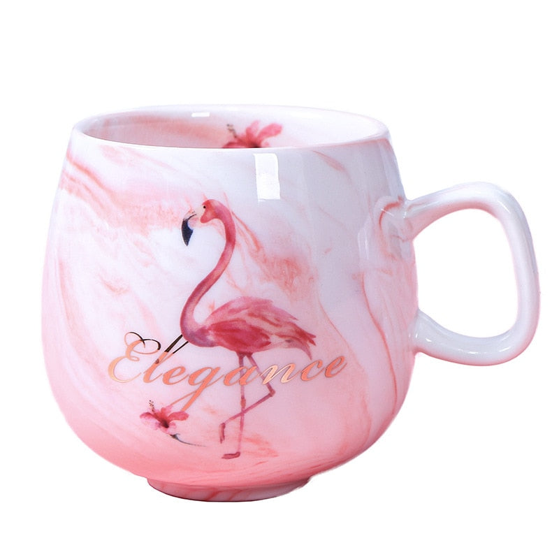 Flamingo Ceramic Mug