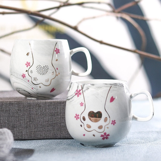 Animal Paw Ceramic Mug