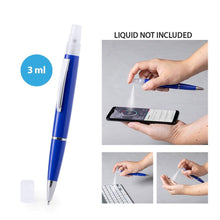 Load the picture into the gallery viewer, BALLPOINT PEN with refillable container for disinfectant