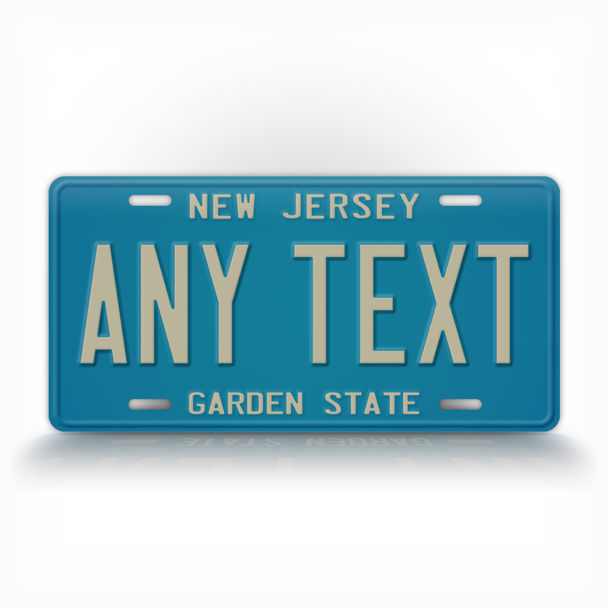 Personalized 1979-1985 New Jersey State License Plate