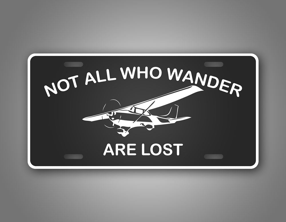 NAWWAL Cessna 172 Private Pilot License Plate