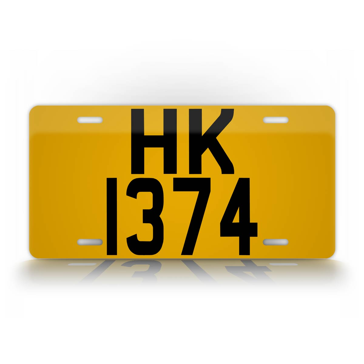 Personalized U.S. Sized Replica Hong Kong License Plate