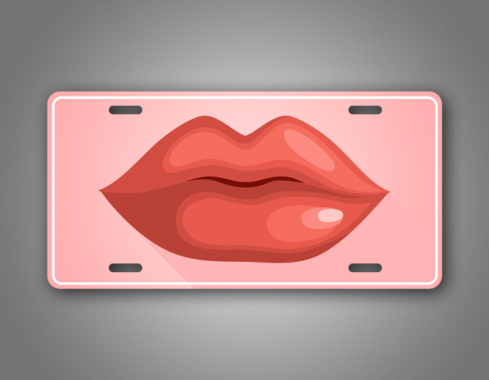 Hot Kissing Lips Auto Tag