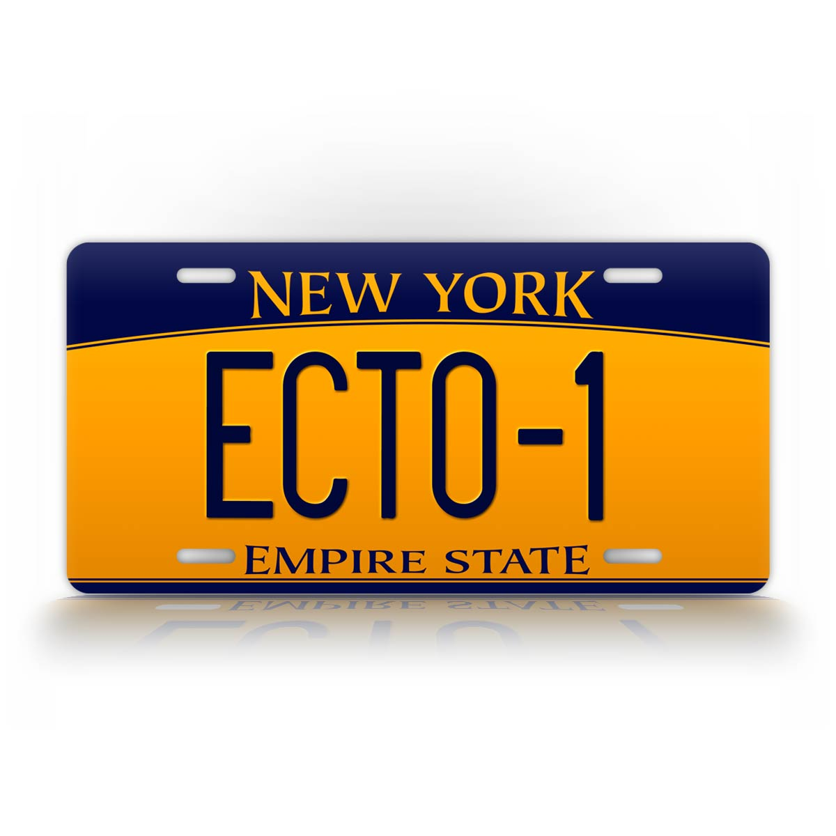 Ghost Busters New York License Plate Ecto-1 Movie Prop