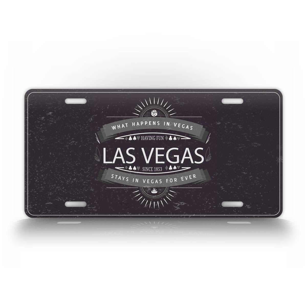 What Happens In Las Vegas Stays In Las Vegas License Plate