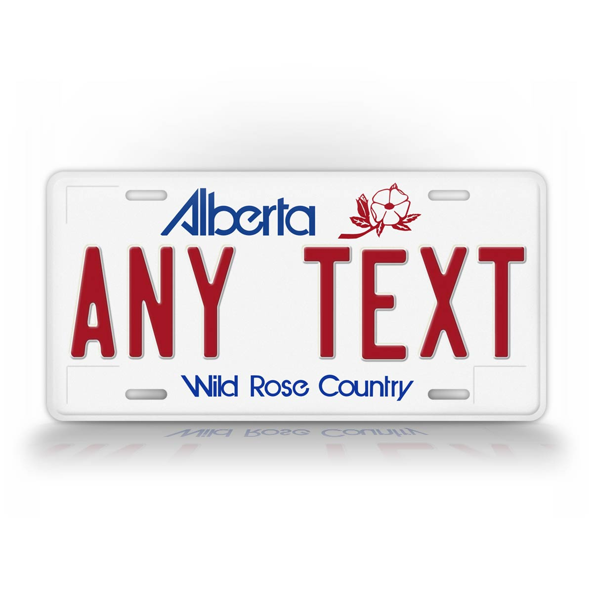 Alberta Canada Personalized Novelty License Plate