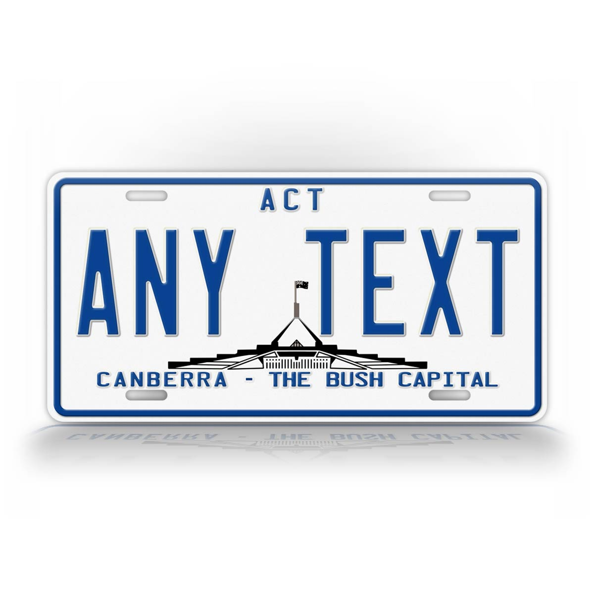 Australia Canberra Bush Capital License Plate