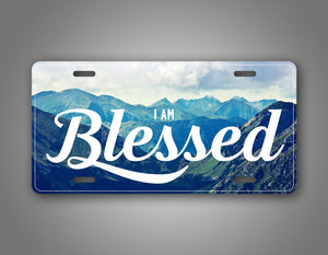 Blessed Mountain Background Beautiful Auto Tag