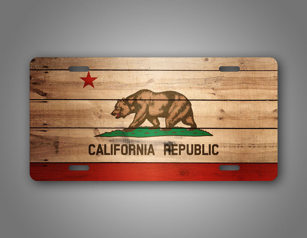 California State Flag Auto Tag