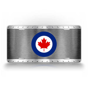 Canadian Air Force License Plate