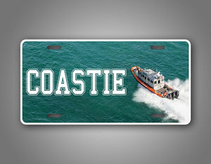 Coast Guard Veteran License Plate Coastie Boat USCG License Plate Auto Tag