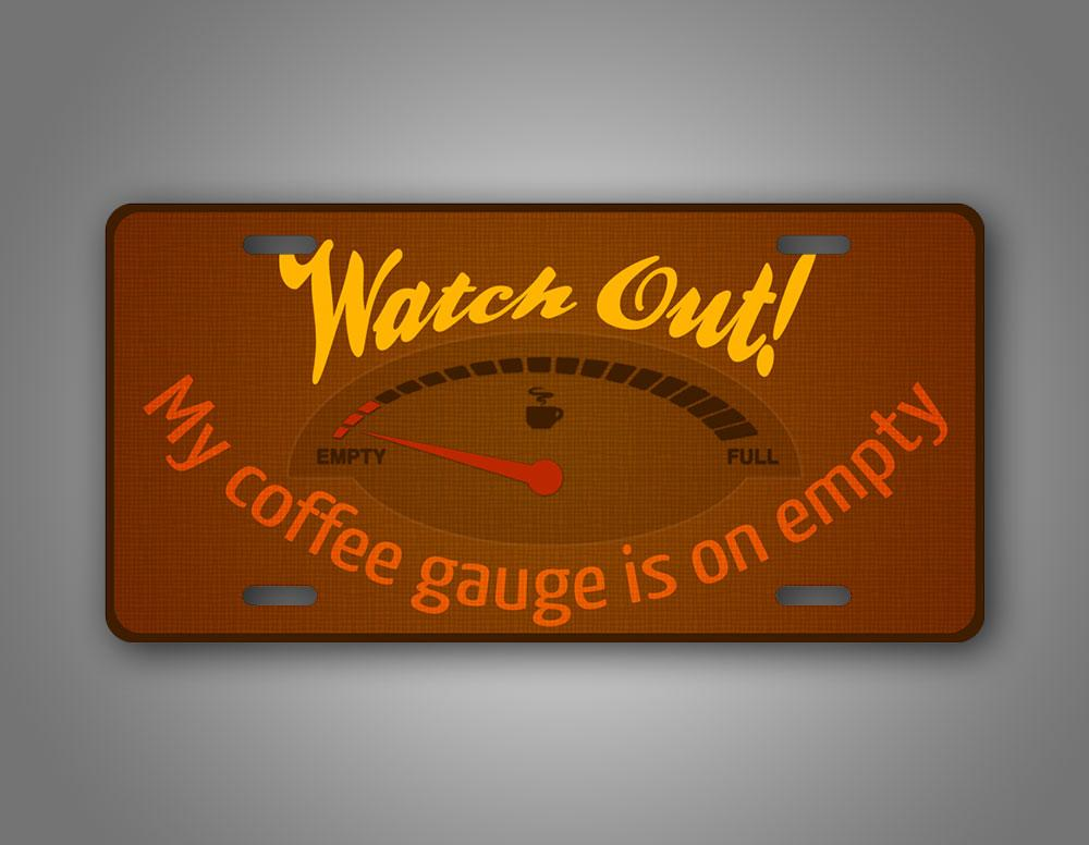 Coffee Gauge Auto Tag