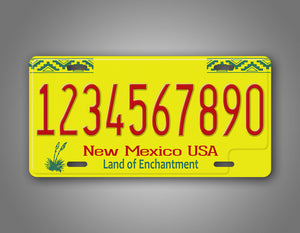 New Mexico Novelty License Plate