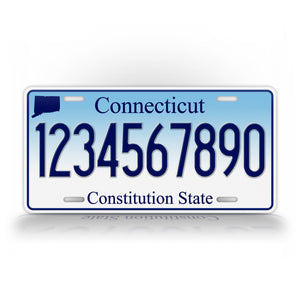 Personalized Novelty Connecticut State License Plate